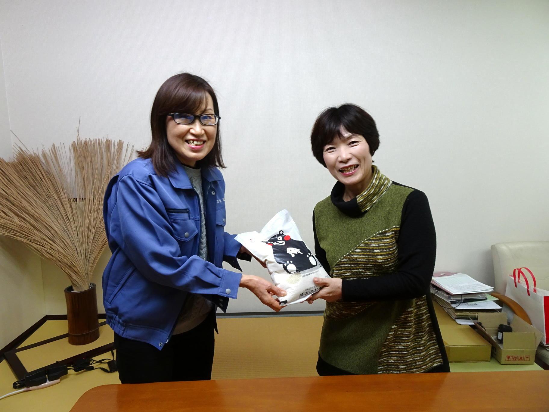 くまモンキャンペーン当選